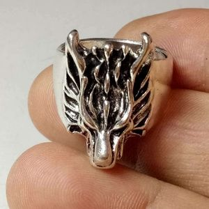 Hand made Jewelry - Tibet Hand made Wolf Ring. SIZE 7